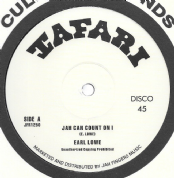 Earl Lowe (Little Roy) - Jah Can Count On I / Dubwise (Tafari / Jah Fingers) 12""